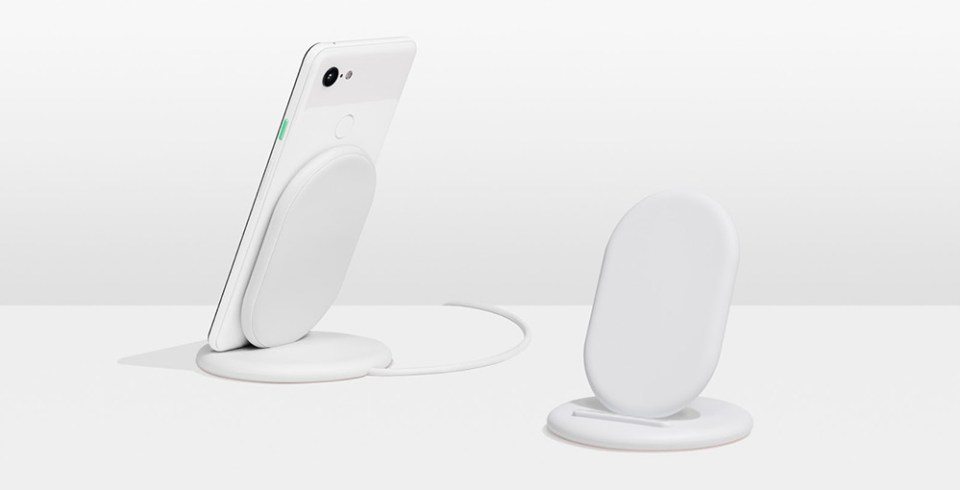Google Pixel Stand wireless chargers