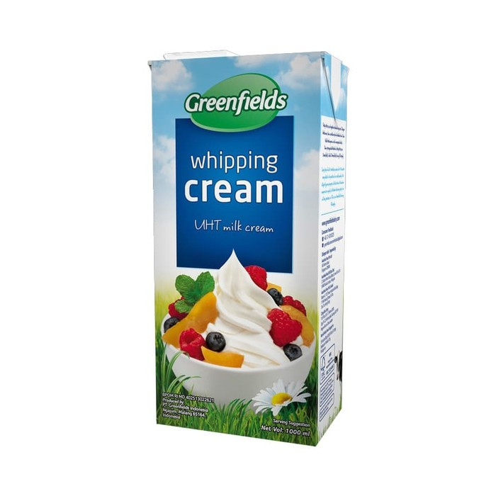 Greenfields Whipped Cream Terbaik