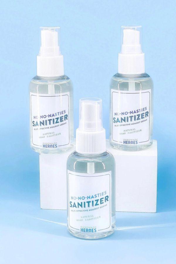 Handmade Heroes No-No-Nasties hand sanitizers