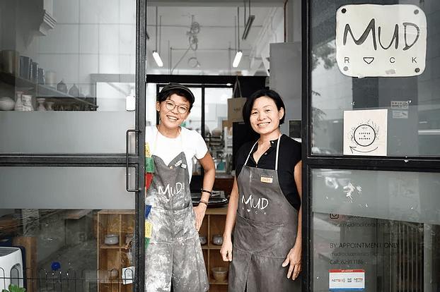 mud rock ceramics pottery class singapore