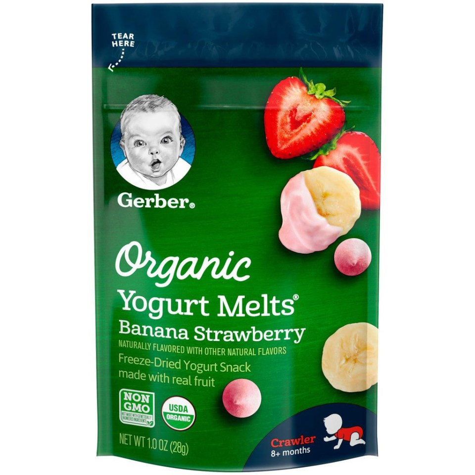 Gerber Organic Yogurt Malaysia