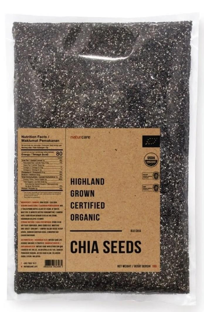 NatureCare.LIFE Highland Grown Organic Chia Seeds