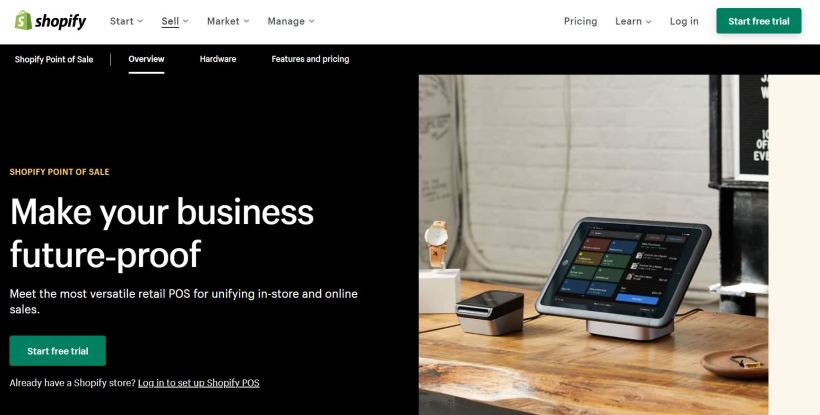 Shopify Best POS System Singapore