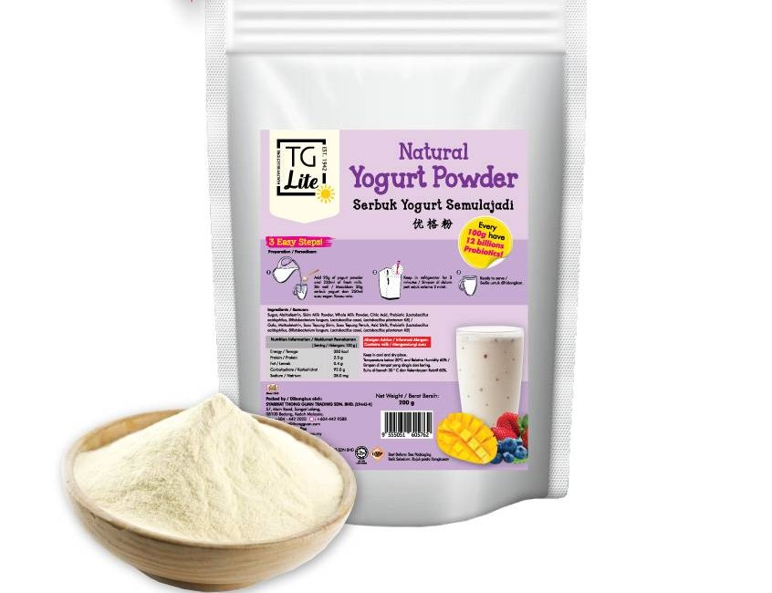 TG Lite Natural Yogurt Malaysia