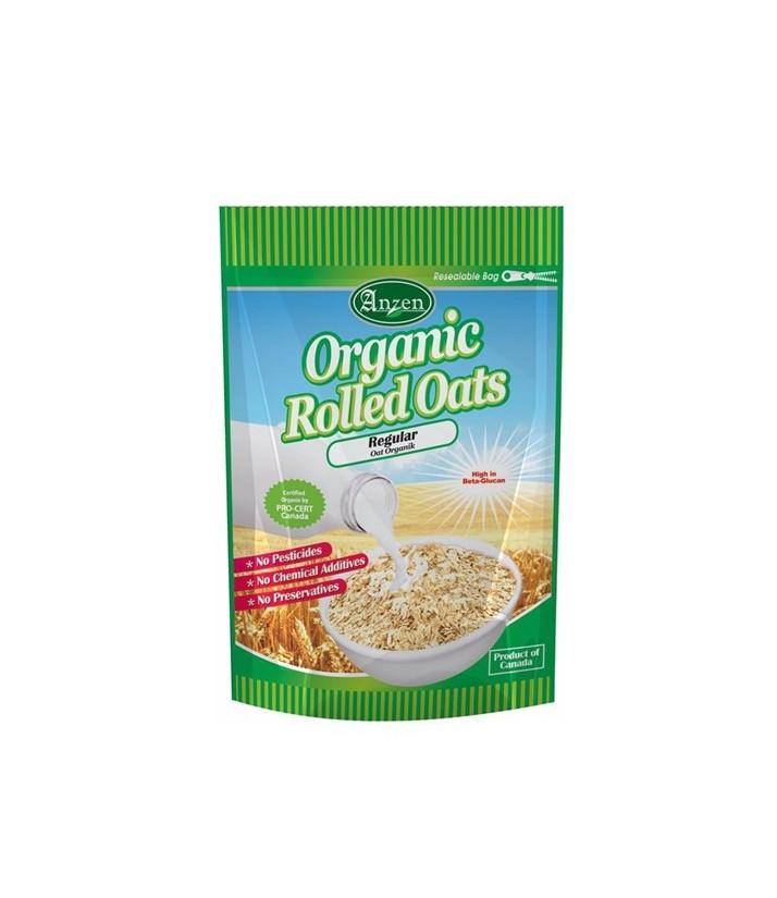 Anzen Organic Regular Rolled Oats