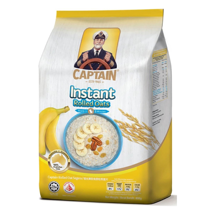 Captain Instant Rolled Oat Malaysia