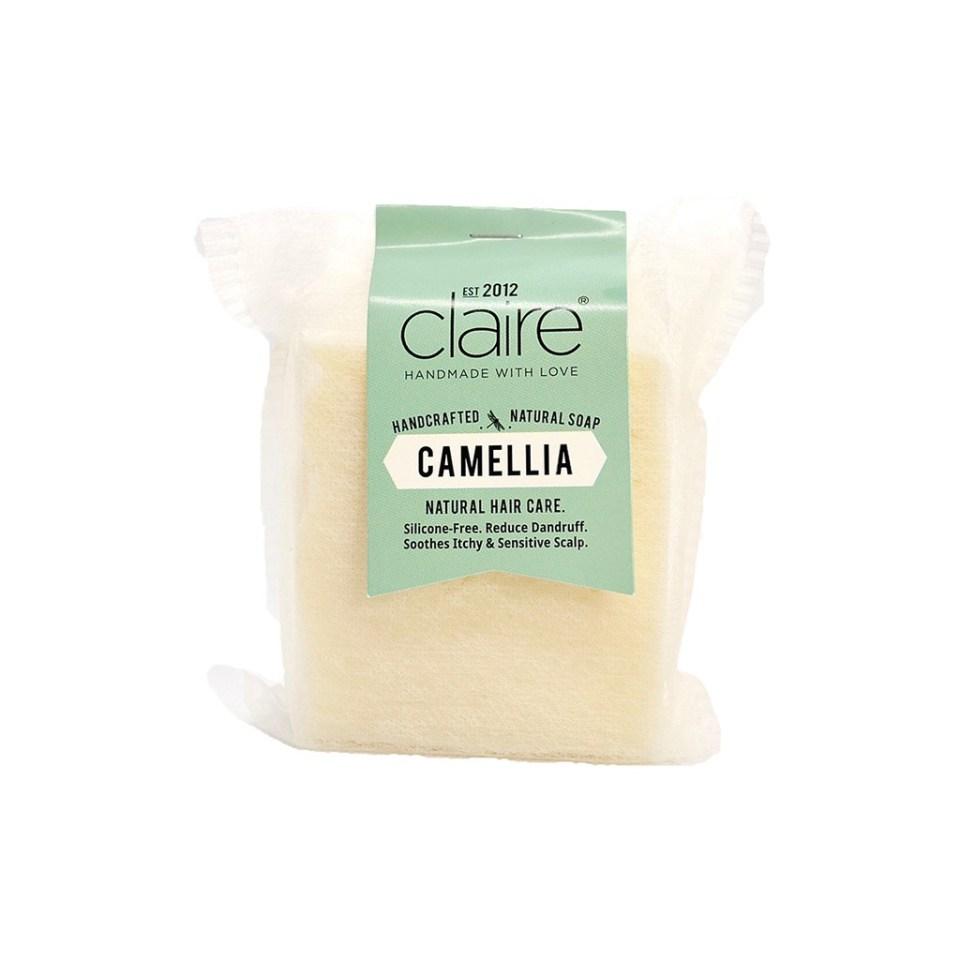 Claire Organics Camellia Hair & Scalp Handmade Shampoo Bar
