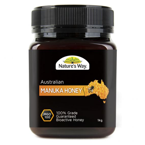 Nature's Way Australian Manuka Honey MGO 100