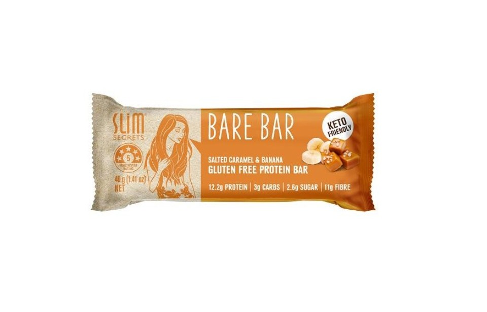 Slim Secrets Bare Bar Salted Caramel & Banana