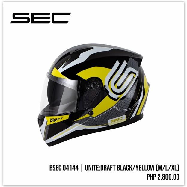 unite draft sec helmets philippines