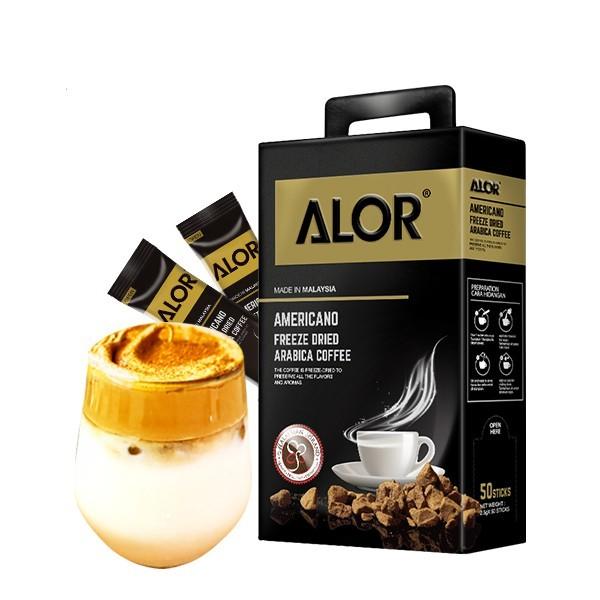 Alor Americano Freeze Dried Arabica Coffee Malaysia