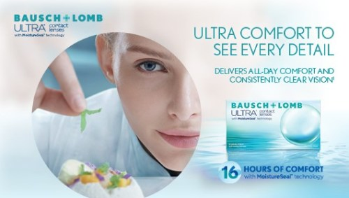 Bausch & Lomb Ultra Contact Lenses Singapore