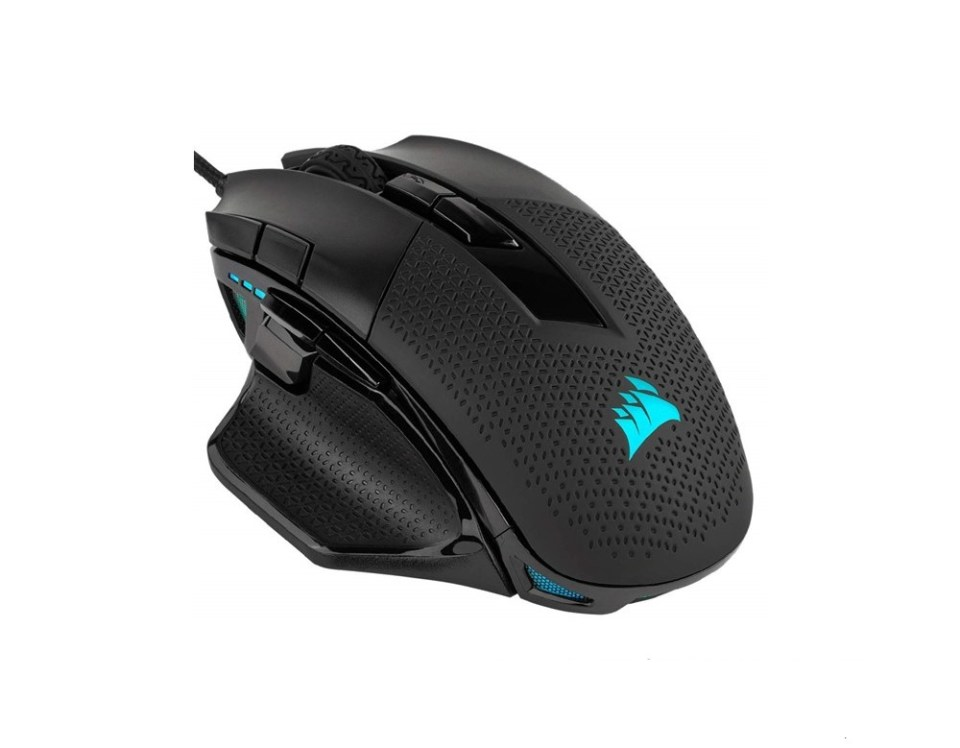 Corsair Nightsword RGB Tunable FPS MOBA Gaming Mouse Malaysia