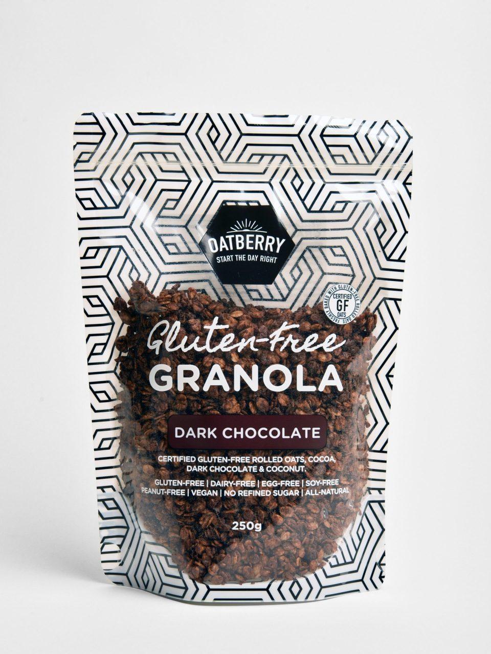 Oatberry Dark Chocolate Granola Best Healthy Snacks Singapore