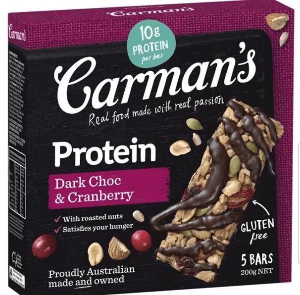 Carman's Dark Choc Cranberry
