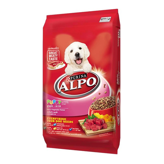 Purina Alpo Beef Vegetables with Milk Essentials