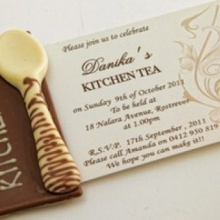 Kitchen Bridal Shower Invitations Aid Water Filter Tea Invitation Ideas | The Wedding Warehouse