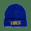 VBS BEANIE Blue The Weed Blog - Cannabis News, Culture, Reviews & More