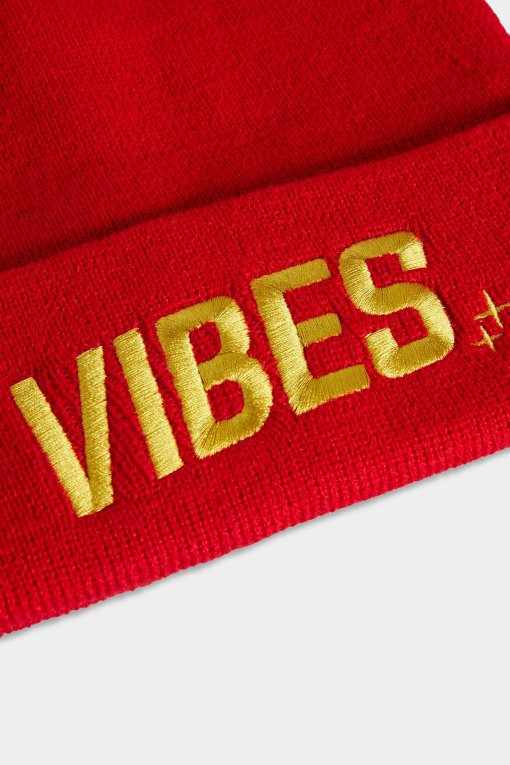 Vibes Beanies Red Closeup Website The Weed Blog | Reviews | Store | Culture | Worldwide