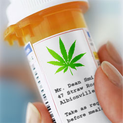 Marijuana Pill Bottle