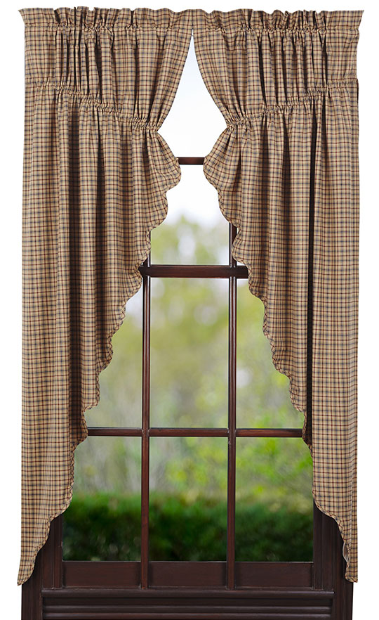 Millsboro Prairie Curtain by Victorian Heart  The Weed Patch
