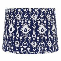 16 inch Ikat Tapered Drum Lamp Shade, from Home Collection ...