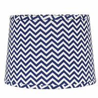 16 inch Chevron Tapered Drum Lamp Shade, from Home ...