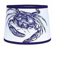 16 inch Crab Tapered Drum Lamp Shade, from Home Collection ...