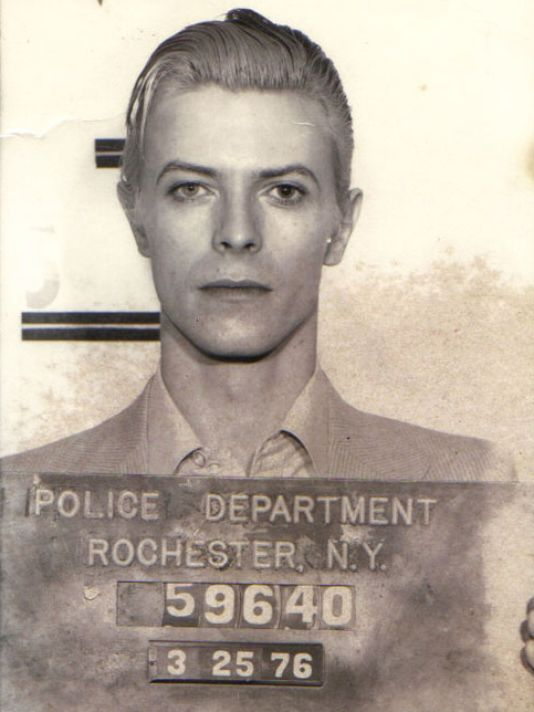 When Rochester NY arrested David Bowie