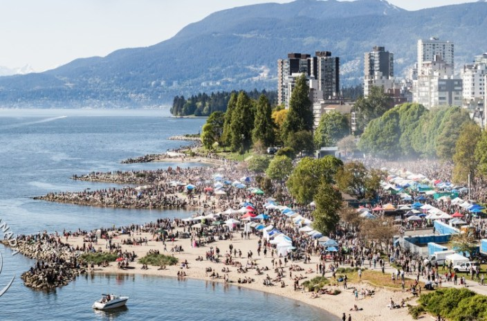 BC: 4/20 organizers say more money in the pot to pay City of Vancouver costs this year