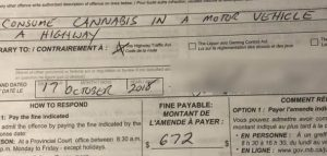 Winnipeg's 1st toking and driving $672 ticket issued 1 hour into legalization