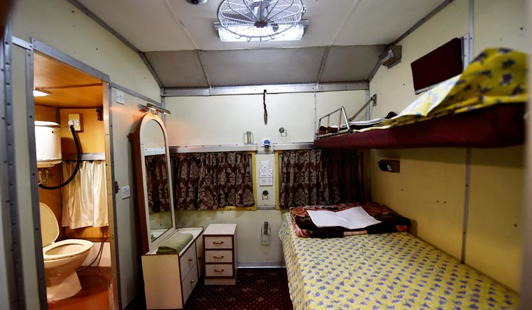 IRCTC opens luxury saloon car for public  Indian Railways