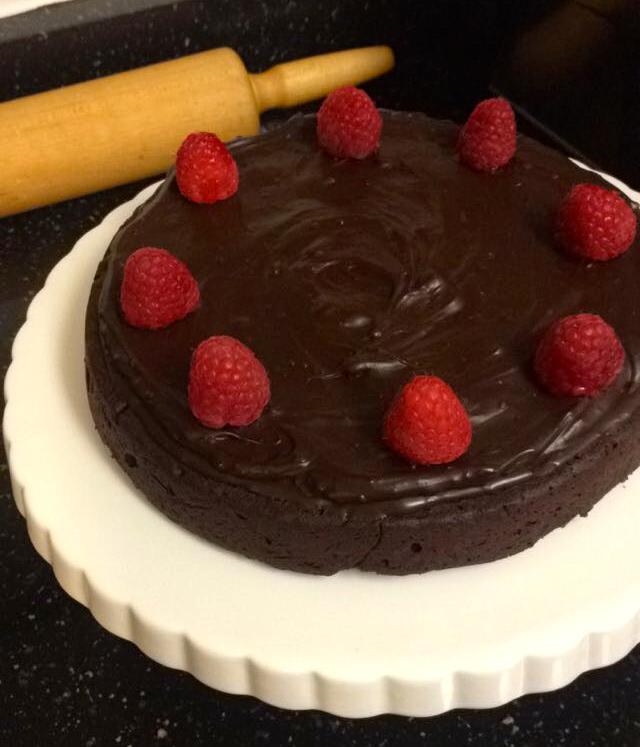 Flourless Chocolate Cake With Unsweetened Chocolate