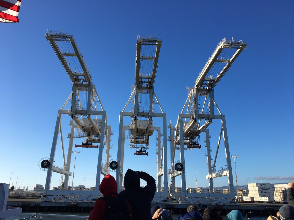 Free Oakland Harbor Tour