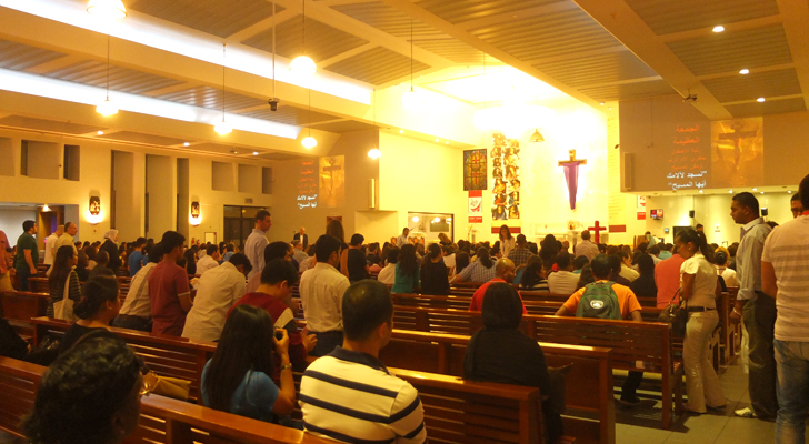 Visita Iglesia Dubai - St. Mary's Church