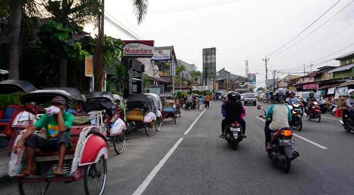 Enroute to Yogyakarta - ojek