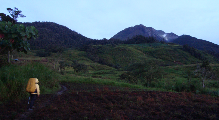 Mt Apo Trek - early morning start