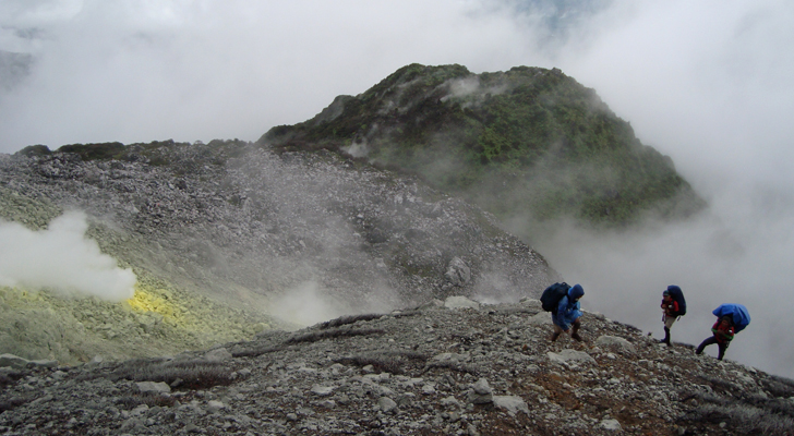 Mt Apo Trek - sulfuric vents
