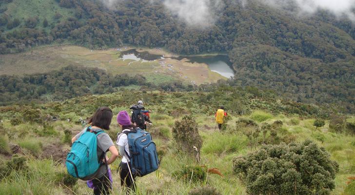 Mt Apo trek - descent via Sibulan