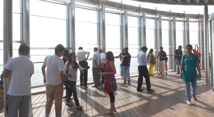 burj khalifa - observation deck