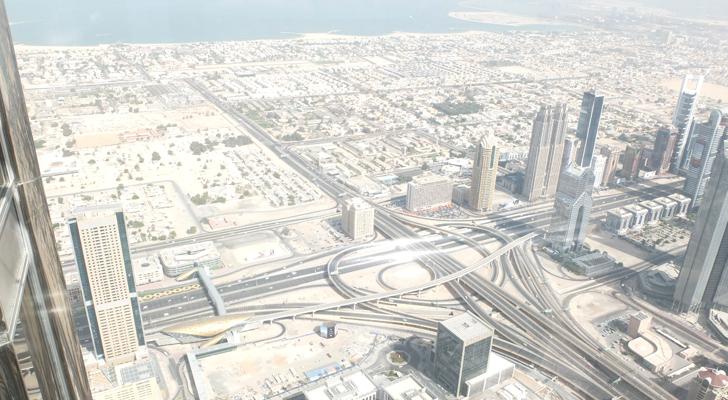 burj khalifa - sheik zayed road