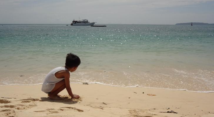 Cape Panwa Phuket - beach