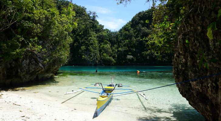 Dinagat Island - Pangabangan tidal pool