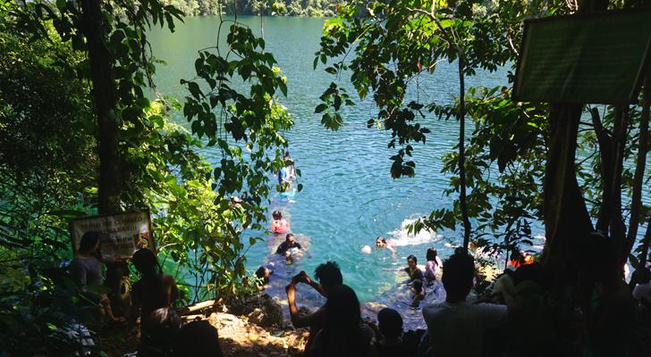 Dinagat Island - at Lake Bababo