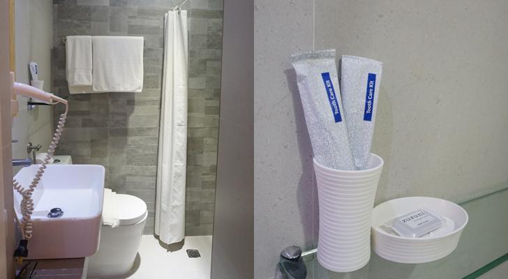 Zuzuni Boracay - toilet and bath