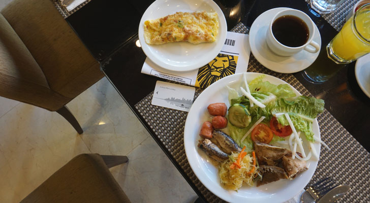 City Garden Suites Manila - breakfast