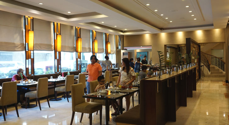 City Garden Suites Manila - dining facility