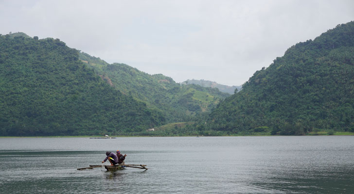 Toledo Cebu - fishing at malubog lake