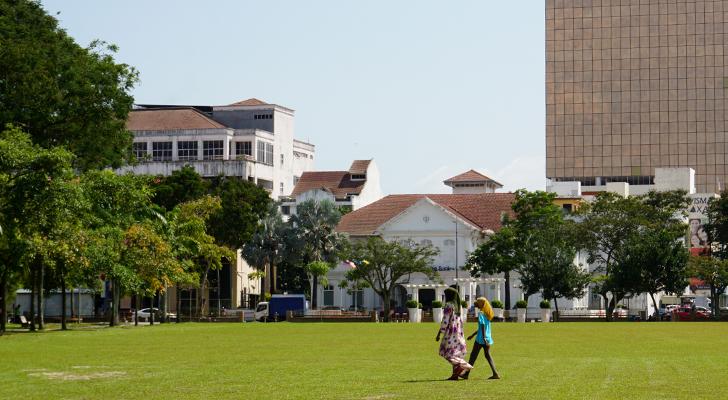 Touchdown Penang - esplanade