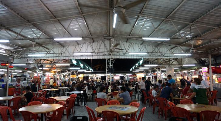 Touchdown Penang - hawker place